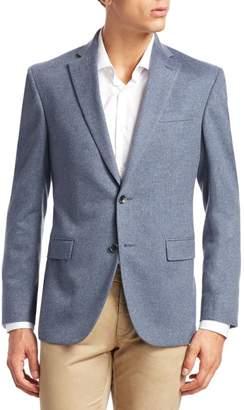 Saks Fifth Avenue Button-Front Cashmere Blazer