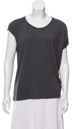 AllSaints Short Sleeve Asymmetrical T-shirt