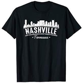 Distressed Nashville City T-Shirt