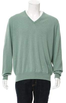 Loro Piana Baby Cashmere V-Neck Sweater