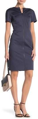 Lafayette 148 New York Deja Short Sleeve Dress