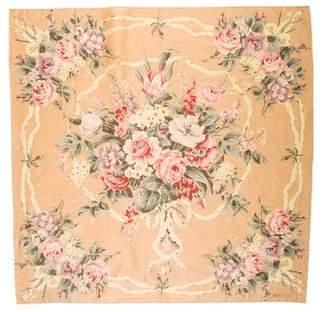 Ralph Lauren Woven Floral Scarf