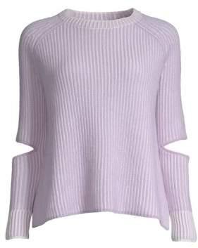 Zoe Jordan Turing Knit Cashmere-Wool Sweater