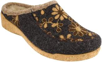 Taos Woolderness 2 Embroidered Wool Slipper
