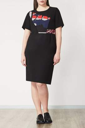 Marina Rinaldi Persona by Modern Black Sheath Dress
