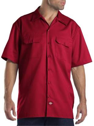 Dickies Men's Big and Tall Short-Sleeve Work Shirt