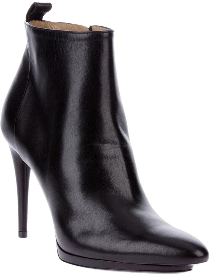 Balenciaga stiletto ankle boot