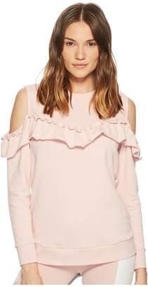 Kate Spade New York Athleisure Cold Shoulder Sweatshirt Women's Sweatshirt