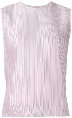 Christian Wijnants sleeveless pleated top