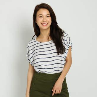 Dessin (デッサン) - Dessin(Ladies) ロープ刺しゅうストレッチドビーシャツ