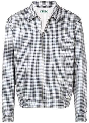 Kenzo checked shirt jacket