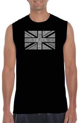 Pop Culture Big Men's Sleeveless T-Shirt - Union Jack