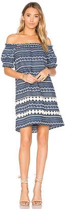 Parker Damaris Dress in Blue $248 thestylecure.com
