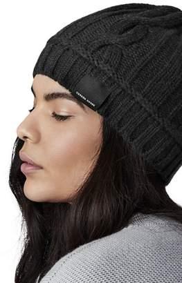Canada Goose Merino Wool Cable Toque Hat