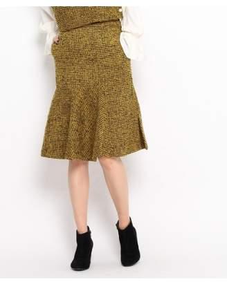 aquagirl (アクアガール) - エージー バイ アクアガール 千鳥ツイードループスカート