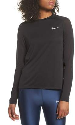 Nike Miler Dry Long Sleeve Tee