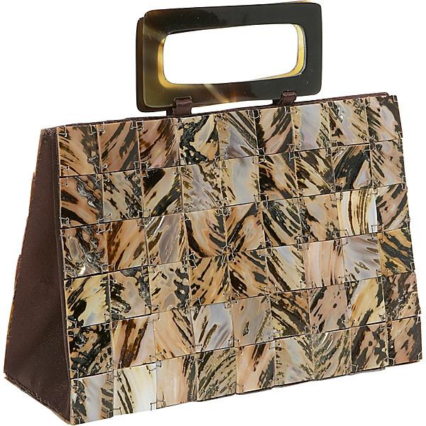 Global Elements Tiger Shell Handbag
