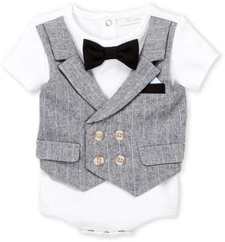 N. Miniclasix (Newborn Boys) Vested Bodysuit