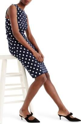J.Crew Spot Tweed Sheath Dress