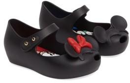 Toddler Girl's Mini Melissa Disney Twins Ii Mary Jane 4