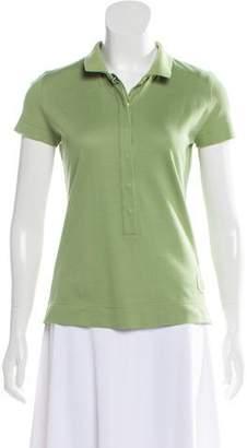 Akris Punto Short Sleeve Polo Top