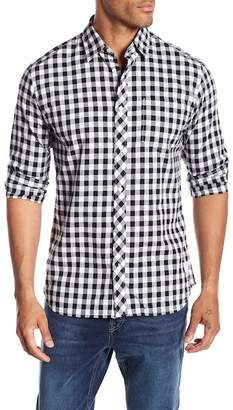 Jack and Jones Gingham Print Slim Fit Woven Shirt