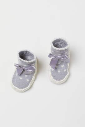H&M Slipper Socks - Gray