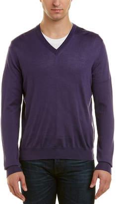 Turnbull & Asser Cashmere & Silk-Blend V-Neck Sweater