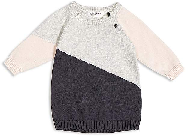 Miles Baby Girls' Sweater Dress - Baby