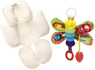 Summer Infant Snuzzler Head & Body Support with Take Along Toy, Firefly