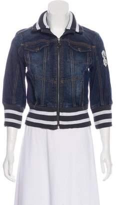 DKNY Casual Denim Jacket