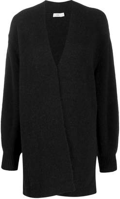Closed single-breasted cardigan