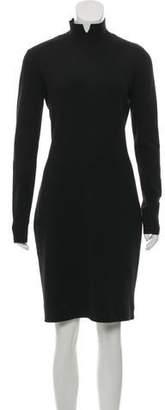 Akris Cashmere Knee-Length Dress