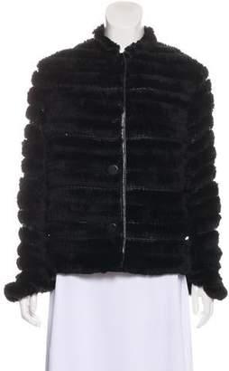Trilogy Fur Long Sleeve Jacket
