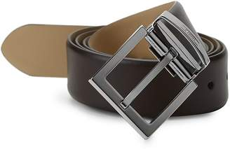 Armani Collezioni Men's Classic Leather Belt