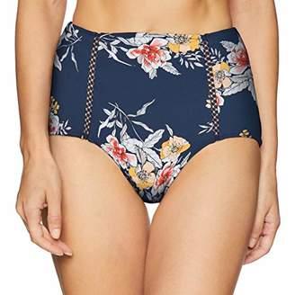 Seafolly Women's High Waisted Bikini Bottom Swimsuit