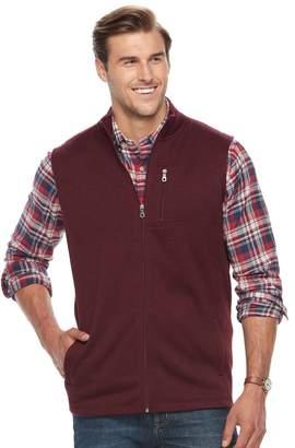 Croft & Barrow Big & Tall Classic-Fit Outdoor Fleece Vest