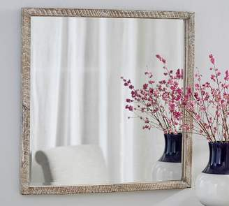 Pottery Barn Foundry Square Wall Mirror