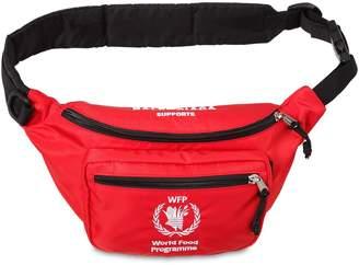 Balenciaga World Food Program Nylon Belt Pack