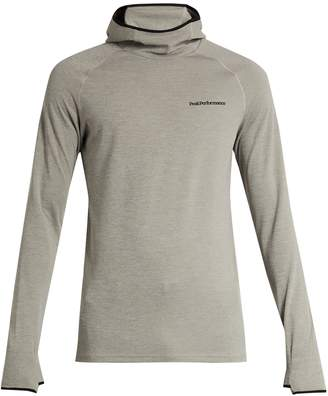 PEAK PERFORMANCE Power jersey hooded sweatshirt $109 thestylecure.com