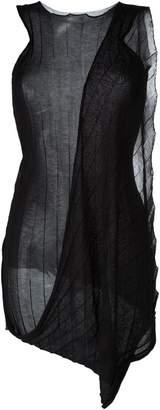 Masnada draped sleeveless knit top