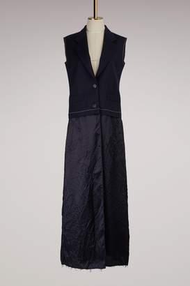 Maison Margiela Deconstructed Wool Dress
