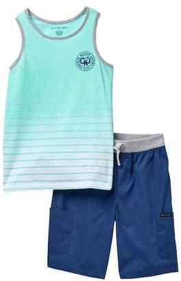 Calvin Klein Tank & Shorts Set (Big Boys)