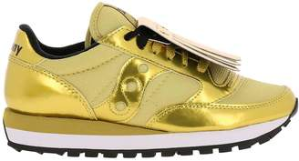 Saucony Sneakers Women's Jazz Original Sneakers In Laminated And Mesh Leather