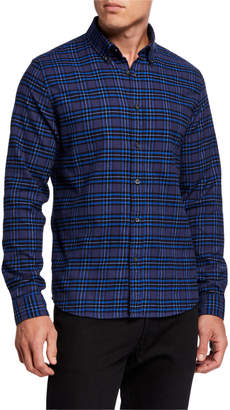 Slate & Stone Men's Flannel Plaid Sport Shirt