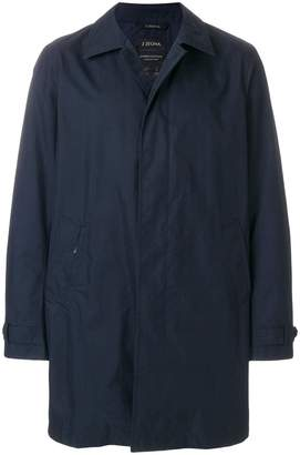 Z Zegna classic fitted coat