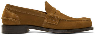 Church's Churchs Tan Suede Pembrey Loafers