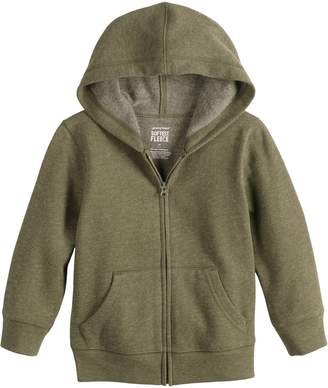 Baby Essentials Baby Boy Jumping Beans Softest Fleece Zip Hoodie
