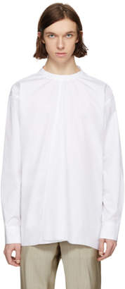 Marni White Back Button Shirt