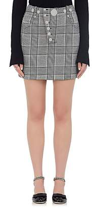 Alexander Wang Women's Checked Miniskirt